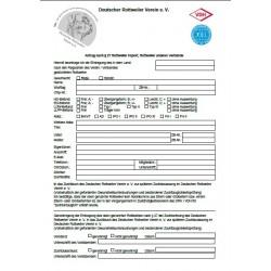 Übernahme nach § 27 Antrag